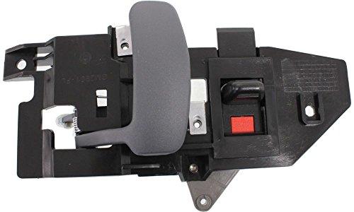 Evan-Fischer EVA18772036600 New Direct Fit Interior Door Handle for EXPRESS/SAVANA VAN 96-15 FRONT LH Inside Gray (Zinc) Replaces Partslink# GM1352153 (2000 Express Door Handle compare prices)