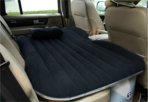 Heavy Duty Car Travel Inflatable Mattress Car Inflatable Bed SUV Back Seat Extended Mattress (Truck Cab Bed compare prices)