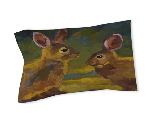 Thumbprintz Pillow Sham, King, Naughty Or Nice front-474765