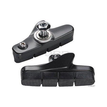 Image of Shimano 105 BR5600-L Brake Shoe Set Black (Y8FP98010)