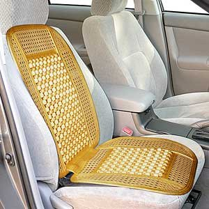 Image of Wagan IN9912 Bead and Rattan Cool Seat Cover