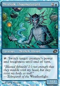 magic-the-gathering-merfolk-thaumaturgist-planar-chaos-foil