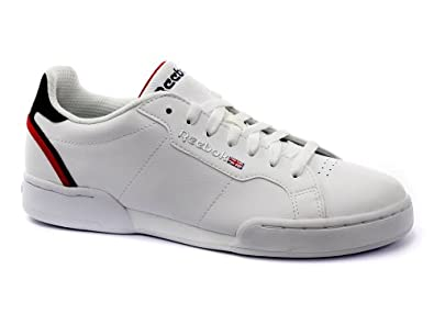 Reebok Classic CL Court Set MTL Homme Baskets Sneakers, blanc