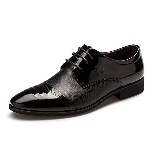 Mode chaussures habillées d'affaires/à lacets Chaussures hommes pour aider à bas