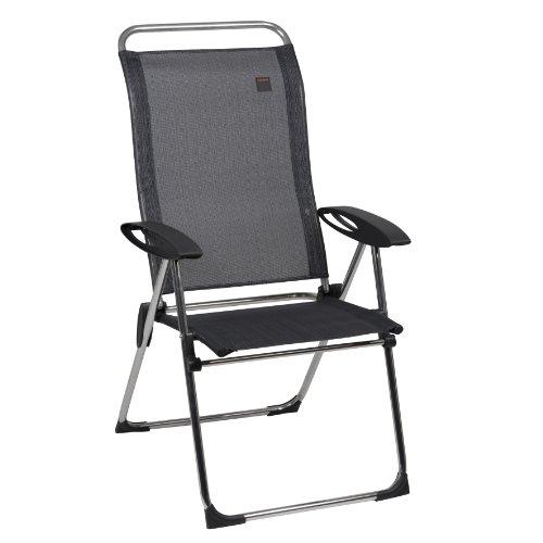 Lafuma cham 39 elips natural batyline gris chaise pliante - Chaise pliante lafuma ...
