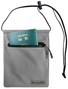Innate Portal Travel Neck Pouch, Charcoal - 2012