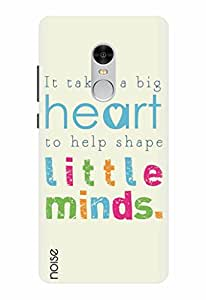 Noise Designer Printed Case / Cover for Xiaomi Redmi Note 4 / Quotes/Messages / Little Minds Design