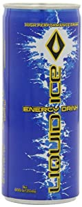 Liquid Ice Energy Drink Regular, 8.3-Ounce Cans (Pack of 24) from Liquid Ice