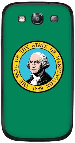 Cellet Washington Flag Skin For Samsung Galaxy S3 - Light Green
