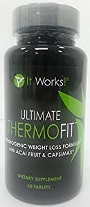 It Works! Ultimate ThermoFit | Thermogenic Weight Loss Formula with Acai Berry & Capsimax
