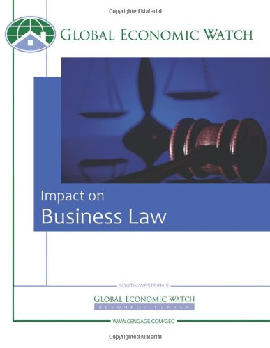 Custom Enrichment Module: Global Economic Watch: Impact on Business: Impact on Business Law