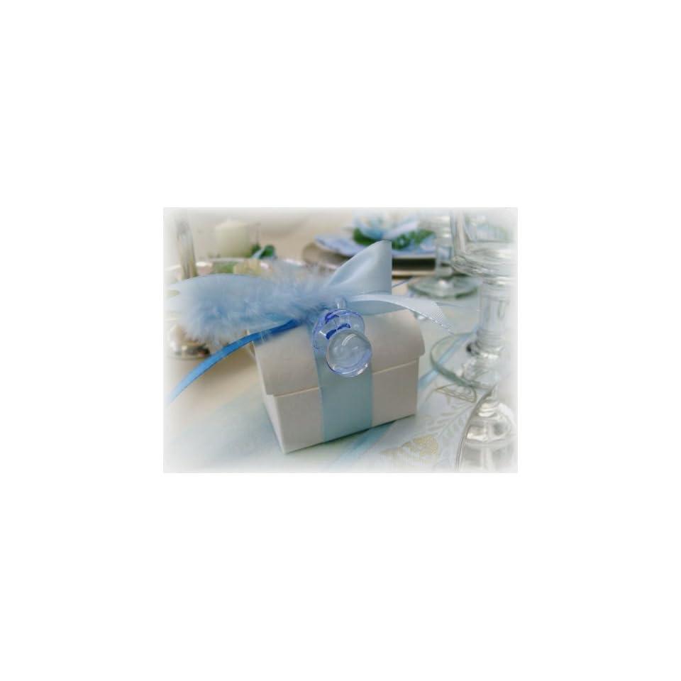 Gastgeschenke Tischdeko Taufe Junge Blau Geburt Ga66 On