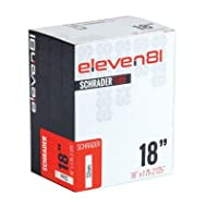 Eleven81 Low Lead Bicycle Tube - 18 x 1.75/2.125 - 32mm Shrader Valve - TUBE1800