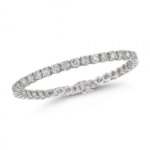 Classic 3cts Diamond Tennis Bracelet in 14K White Gold