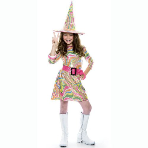 Groovy Witch Children's Costume (Girl's Children's Costume)