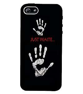PrintVisa Quotes & Messages 3D Hard Polycarbonate Designer Back Case Cover for Apple iPhone 5 :: 5S