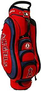 MLB Los Angeles Angels Medalist Cart Golf Bag, Navy by Team Golf