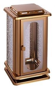 Grablampe aus Edelstahl, bronzefarben