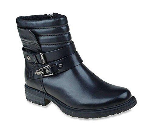 601218W-001 Earth Women's Pepperidge Casual Boots - Black - 6.5\M (Boots Footwear)