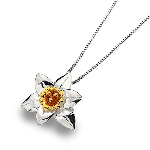 sterling-silver-925-daffodil-flower-pendant-necklace