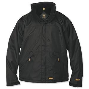 Dewalt Waterproof Jacket Microfleece Lined Internal Phone and Document Pockets X-Large Ref Site jacket XL
