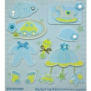 3D STIX BABY BOY & TOYS Papercraft, Scrapbooking (Source Book)