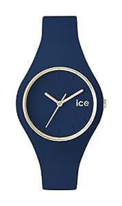 [アイスウォッチ]ICE WATCH 腕時計 ウォッチ ice glam 34mm ネイビー シリコンラバーベルト クオーツ 10気圧防水 レディース [並行輸入品]