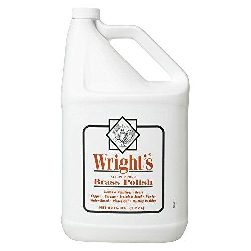 Wright's 11121-00338 60 oz Liquid Brass Polish - 4 / CS (Wrights Brass Polish compare prices)