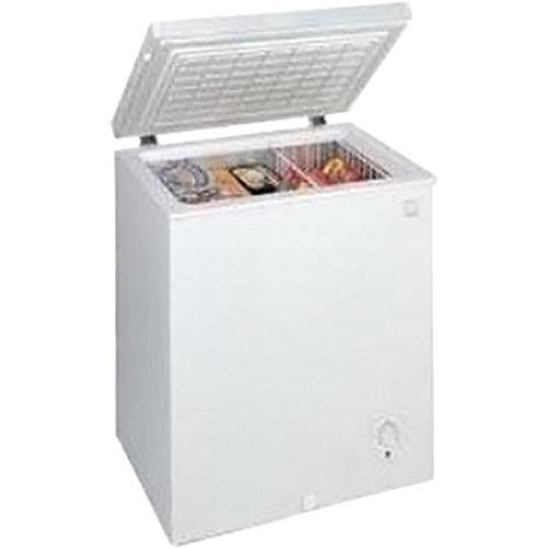 Avanti 3.5 cubic foot Chest Freezer in white with Power indicator