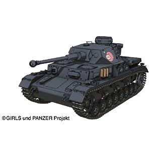 1/35 ガールズ&パンツァーシリーズ IV号戦車D型改 (F2型仕様) あんこうチームver.