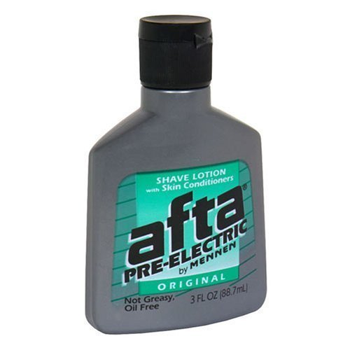 Special Pack Of 5 - Mennen Afta Pre-Electric Shave Lotion Fresh Scent - 3 Oz Bottles