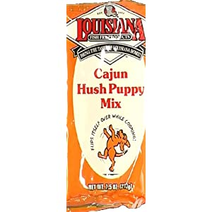 Louisiana Fish  on Louisiana Fish Fry Original Cajun Hushpuppy Mix  1 Package  Amazon Com