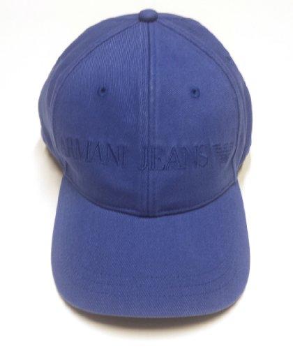 Armani Jeans Classico Logo Cap Small Blu