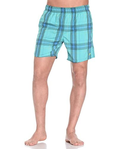 Speedo Shorts da Bagno Yd Check Leis 16 Wsht Am [Verde/Nero/Giallo]