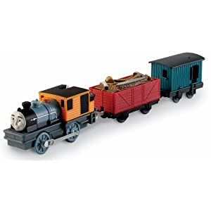 THOMAS TRACKMASTER BASH THE LOGGING LOCO