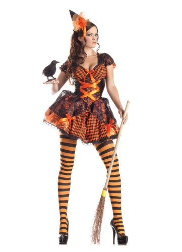 Adult Victorian Witch Costume Party King PK177