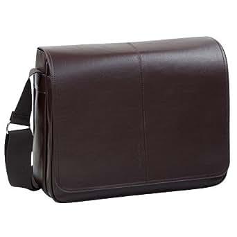 Marc O'Polo Messenger Bag Unisex - 38x30x13cm - Dunkelbraun