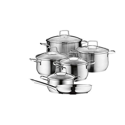 Sets de po les et casseroles haussmann h ritage - Batterie de cuisine sitram ...
