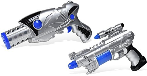 Maxx Action 2 Galactic Series Photon Blasters with Lights and Sounds