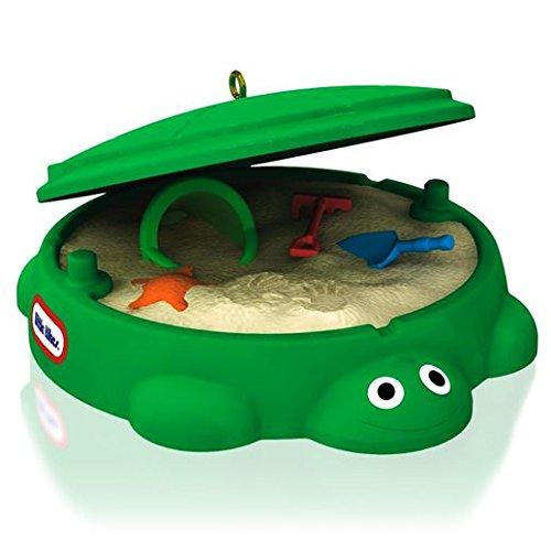 Hallmark 2014 Classic Turtle Sandbox Little Tikes Ornament front-1046580