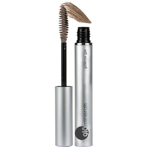 Glo Minerals Brow Gel Eyebrow Makeup .14Oz Taupe Color
