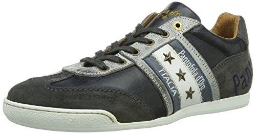 Pantofola D'Oro - Ascoli Piceno Low Men, Sneakers da uomo, Blu (Blau (Dark Navy), 42