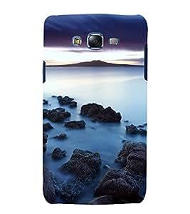 printtech Nature View Seashore Back Case Cover for Samsung Galaxy J5 / Samsung Galaxy J5 J500F