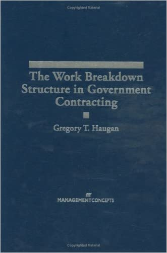 The Work Breakdown Structure in Government Contracting