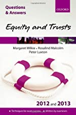 Equity and Trusts Q and A and by Margaret Wilkie
