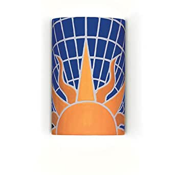 Wall Sconces For Damp Locations : Mosaic Solar 1 Light Wall Sconce Bulb Type: Fluorescent, Wet Location Single Socket: No ...