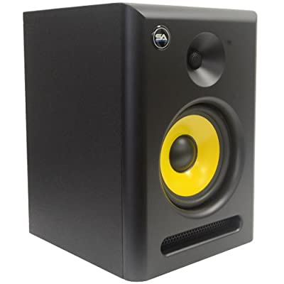 Seismic Audio Spectra-6P Active 2-Way 6-Inch Studio Reference Monitor - 75W RMS from Seismic Audio Speakers, Inc.
