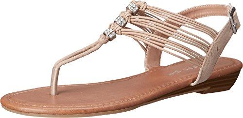 887865312260 - Madden Girl Women's Tangle Blush Fabric Sandal 7 M carousel main 0