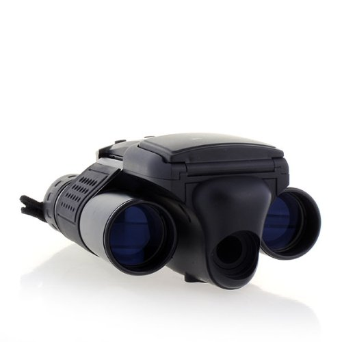 Daditong New 12X25 Black Binoculars With Built-In Digital Camera Telescope Folding