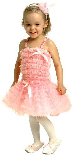 Pink Ballerina Dress with Ruffles